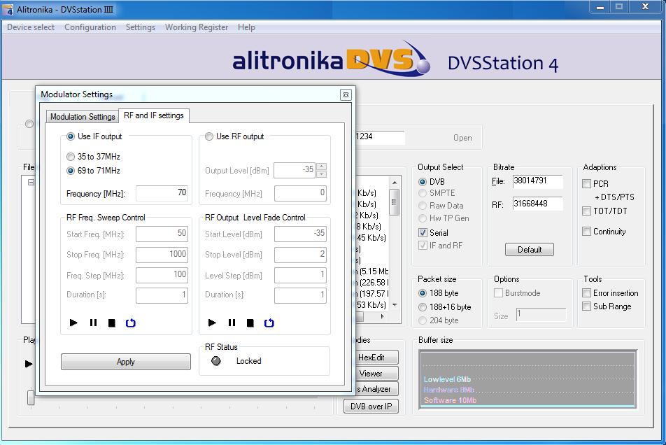 Alitronika AT278USB Multi-standard DVB-T/H/C modulator